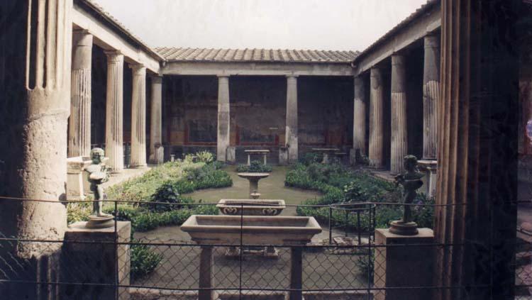casa con patio domus
