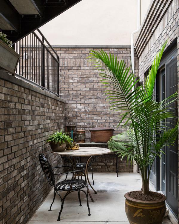 casas con patio inglés